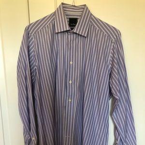David Donahue Long Sleeve ButtonUp Shirt Nordstrom